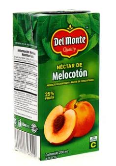 Nectar Del Monte Melocoton Tetra 200ml