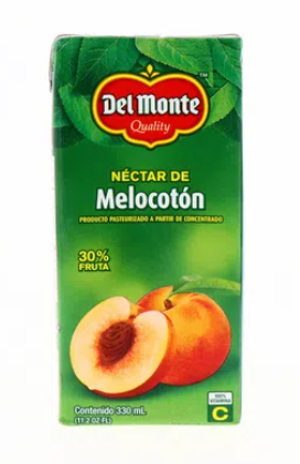 Nectar Del Monte Melocoton Tetra 330ml