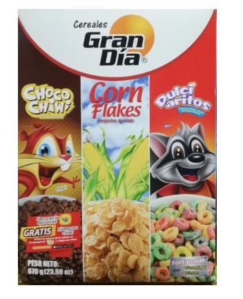 Cereal 3Pack Gran Dia 670g