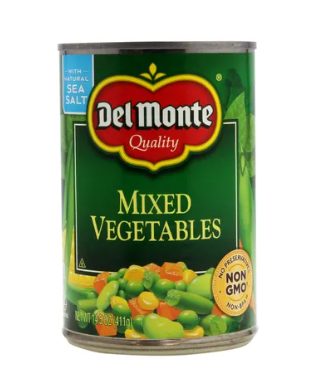 Vegetales Mixtos Del Monte 14.5oz