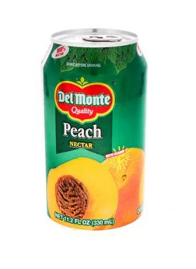Nectar Del Monte Melocoton Lata 330ml