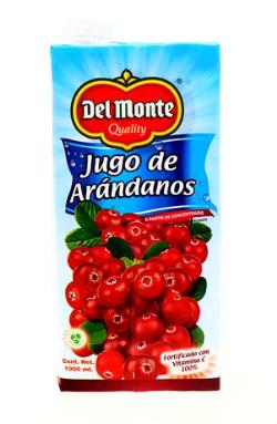 Jugo Arandanos Del Monte 1000ml