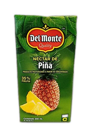 Nectar Del Monte Piña Tetra 200ml