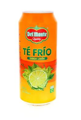 Te Frio Del Monte Limon Lata 460ml