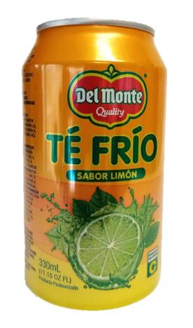 Te Frio Del Monte Limon Lata 330ml