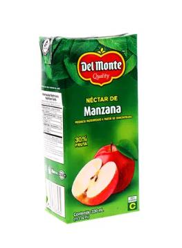 Nectar Del Monte Manzana Tetra 330ml