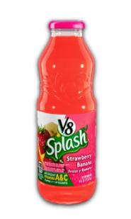 Jugo V8 Splash Fresa Banano 473ml