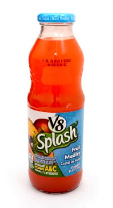 Jugo V8 Splash Fruit Medley 473ml