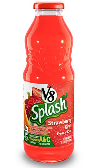 Jugo V8 Splash Fresa Kiwi 473ml