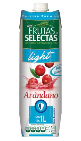 Jugo Arandano Light Frutas Selectas 1000ml
