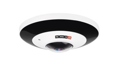 Camera-H.265 IP Series, Fisheye, 6MP with PoE