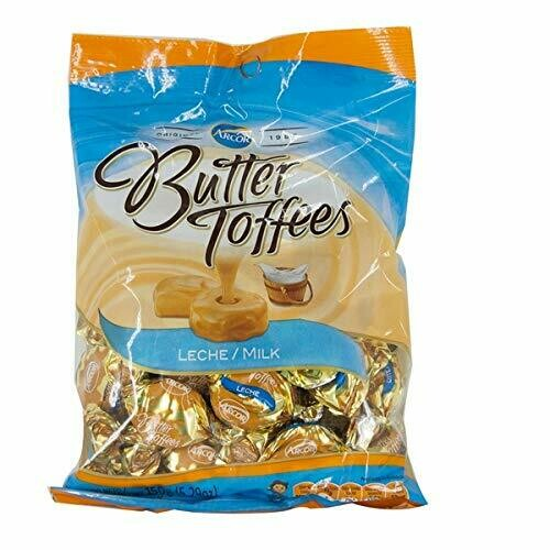 Confite Arcor Butter Toffee Leche (100 unid) 400gr