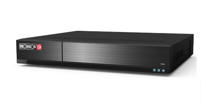 H.265 Stand Alone NVR, 16CH PoE  8MP at 25fps. 1.5U case, support Face recognition