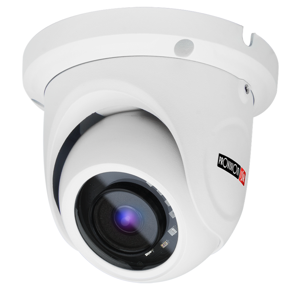 Camera-S-Sight Series, Dome, IR 15M(2 LED Array), 1/3 sensor with 3.6mm lens, 3MP with PoE