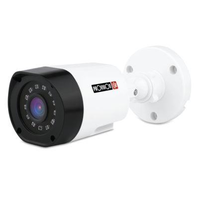 Camera-HD Basic Series, Bullet Plastic, IR(12pcs ), 3.6mm lens, 1/3 sensor 720P, white, DIP (Exterior)