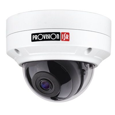 Camera-H.265 Eye-Sight Series, Anti-Vandal, IR 15M(24 LEDs), 3.6mm Lens 5MP with PoE
