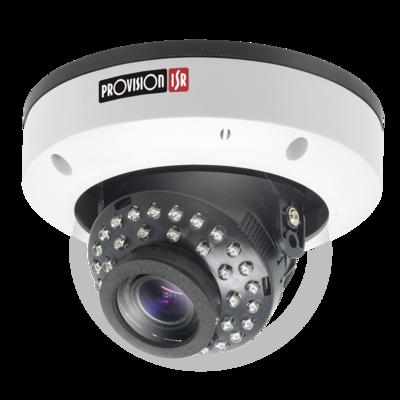 Camera-AHD Pro Series,Anti Vandal Dome, IR metal(35 LEDs), 2.8-12mm lens, 1/3 Sensor, 2MP (Interior/Exterior)