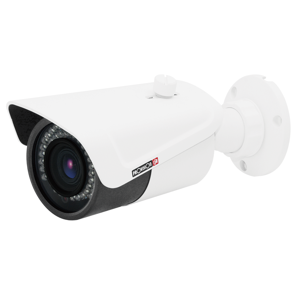 H.265 Camera- S-Sight Series, Bullet, IR 30M(42 LED),2.8-12mm lens, 2MP with PoE