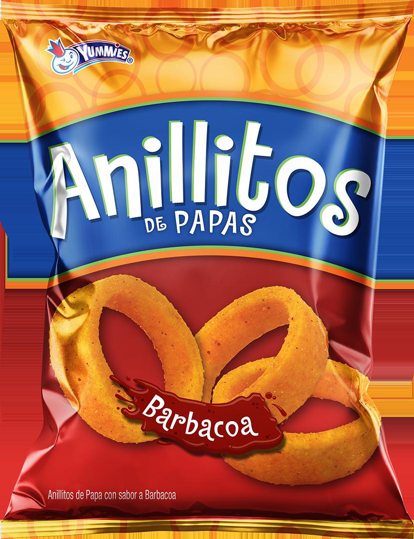 Zibas Anillitos Papa Barbacoa Tamaño Familiar 150 Gramos