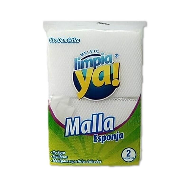 Esponja Eterna Malla Limpia Ya 2 unidades