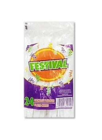 Cuchillo Festival 24 unidades
