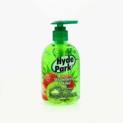 Jabon para Manos Anti-Bacterial Fresa y Kiwi Hyde Park
