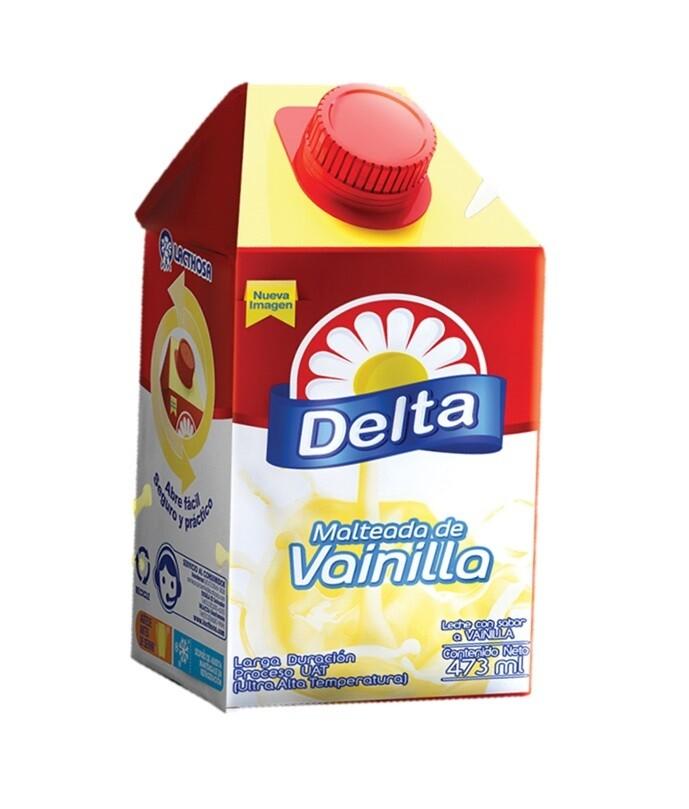 Malteada Delta Vainilla Gemina 473 ML