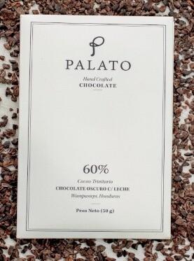 Barra 60% Chocolate Oscuro con Leche (PALATO)