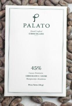 Barra 45% Chocolate con Leche (PALATO)
