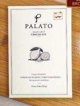 Barra Chocolate Blanco con Limon y Sal (PALATO)