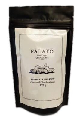 Bolsa Cashews Cubiertas de Chocolate Oscuro 6oz. (PALATO)