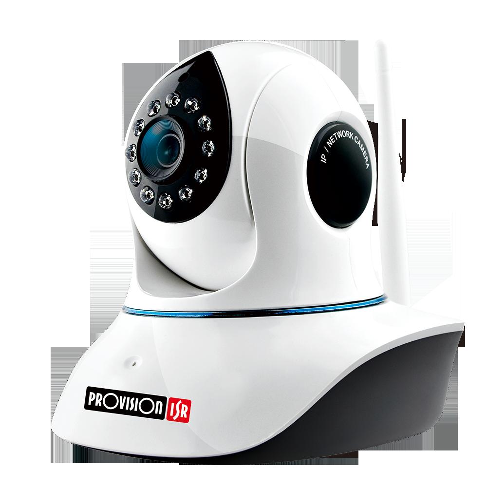 Camara Inalámbrica WiFi 1080P Pan/Tilt IP con Iluminador IR