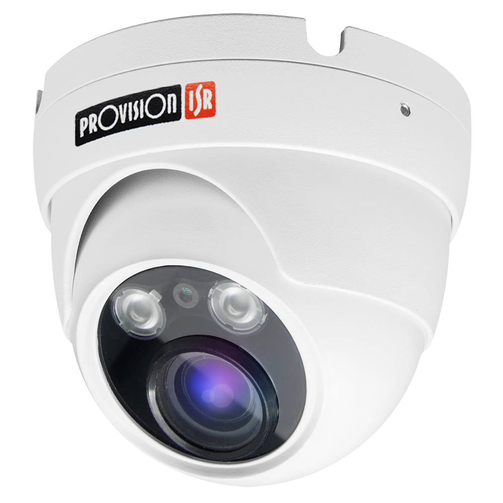 Camera- H.265 S-Sight Series, Dome, IR 15M(2 LED Array), 2.8-11mm lens, 2MP with PoE