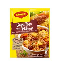 Maggi Sopa Res Fideos 60gr