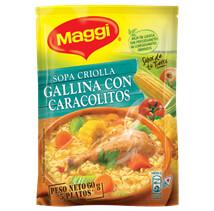 Maggi Sopa Criolla Gallina Caracolitos 60gr