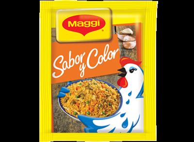 Maggi Gallinita Caldo Sabor y Color 10gr