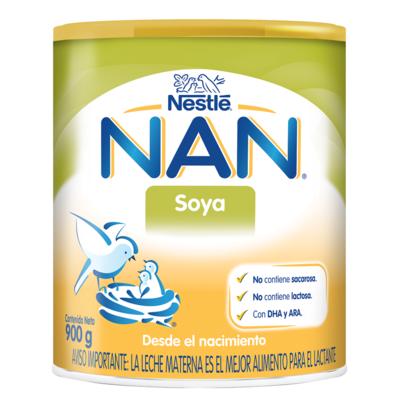 Leche NAN Soya DHA/ARA 900gr