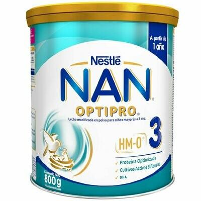 Formula Infantil NAN 3 OptiPro 800gr