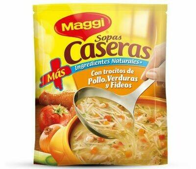 Maggi Sopa Pollo Vegetales 185gr