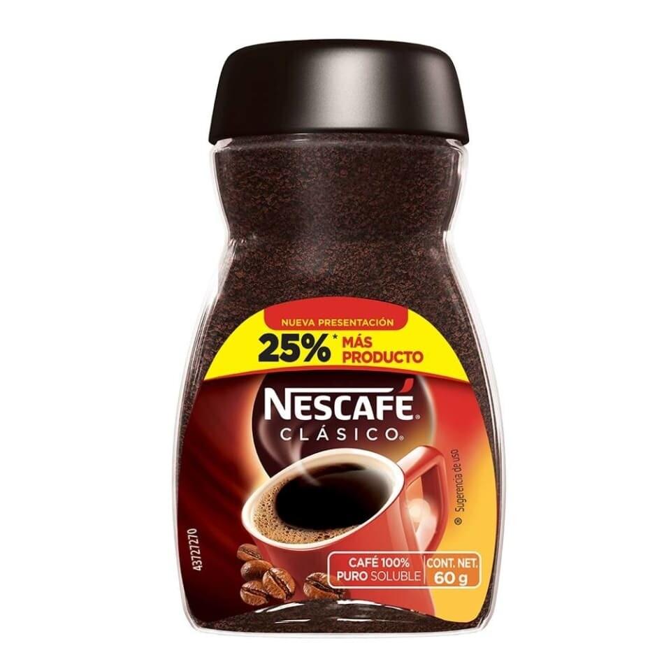 Nescafe Clasico Frasco 60gr