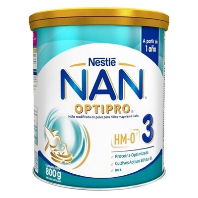 Formula Infantil NAN 3 OptiPro HMO 800gr