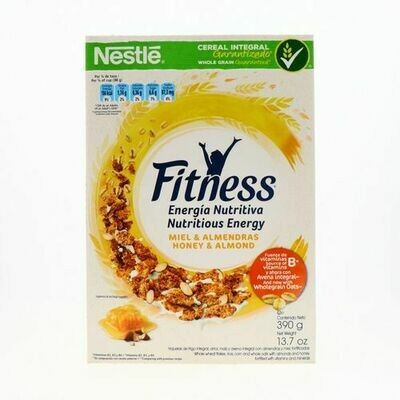 Fitness Honey & Almond Cereal 390gr
