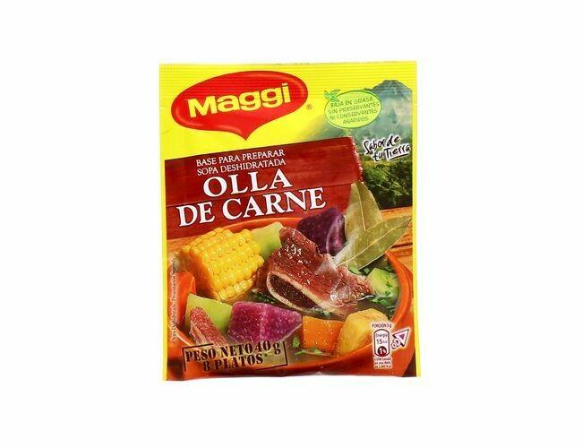 Maggi Sopa Olla Carne 40gr
