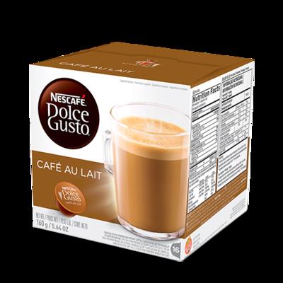 Nescafe Dolce Gusto Cafe Au Lait (Cafe c/ Leche) 16 Capsulas 160gr