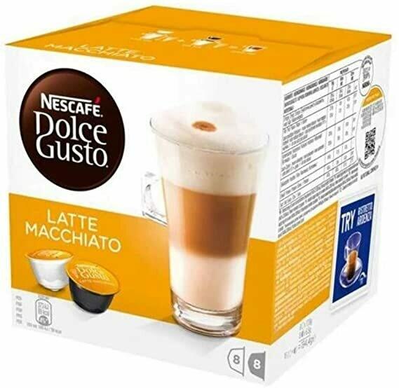 Nescafe Dolce Gusto Latte Machiato 16 Capsulas 194gr
