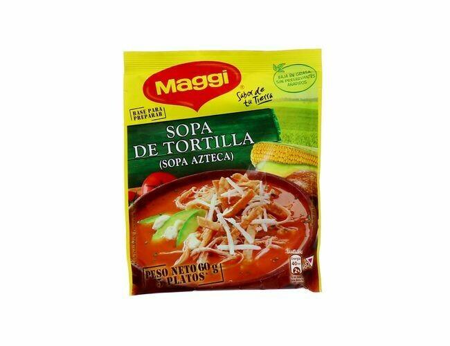 Maggi Sopa Tortilla (Azteca) 60gr