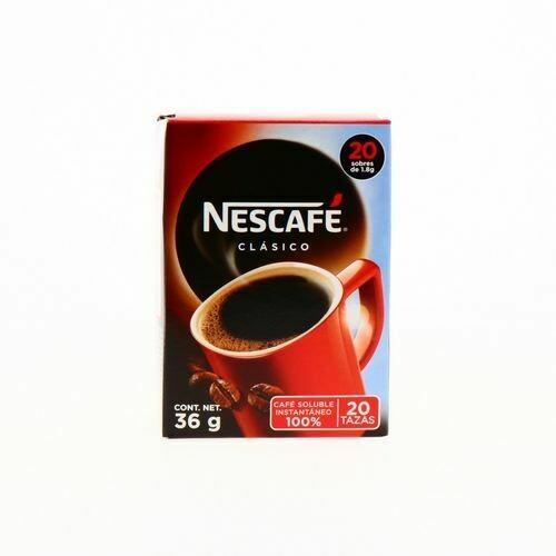 Nescafe Clasico Stick - 20 Sobres 36gr