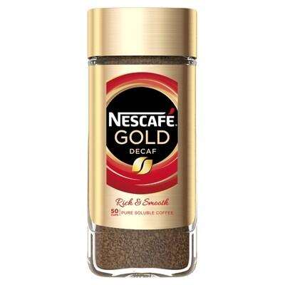 Nescafe Gold Decaf Signature Jar 100gr
