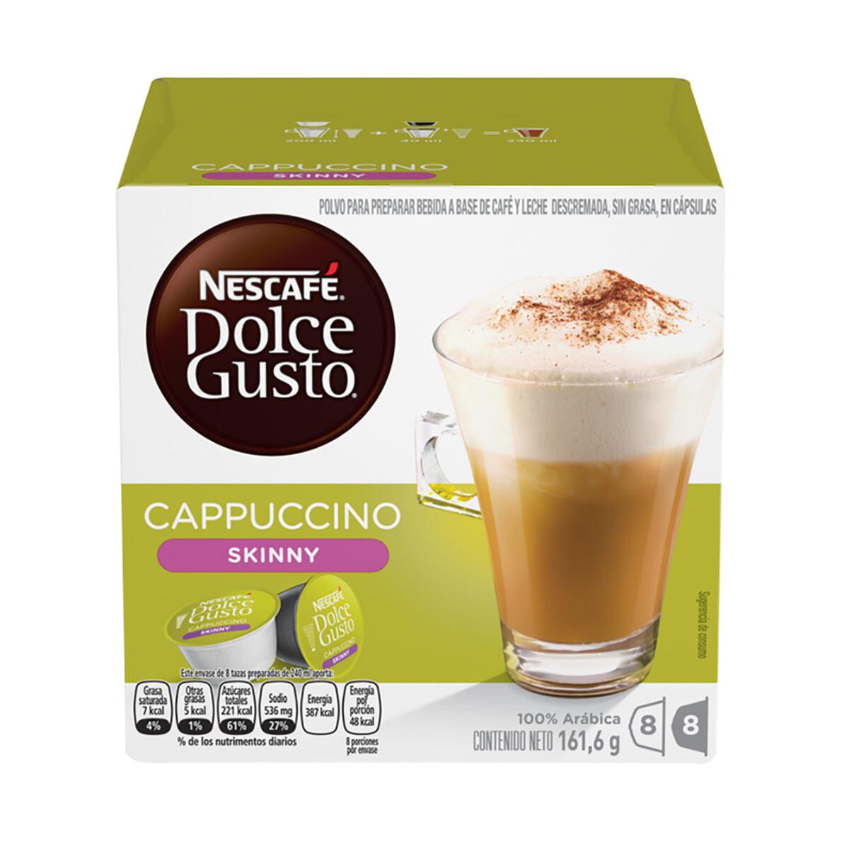 Nescafe Dolce Gusto Skiny Cappuccino 16 Capsulas 161gr
