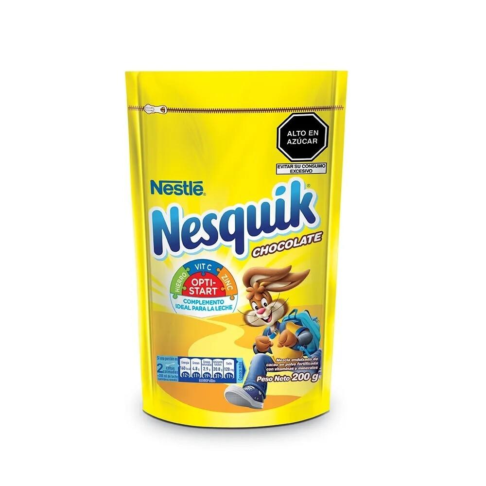 Nesquik Chocolate en polvo bolsa 200gr